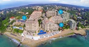 Luxury apartments on the beach