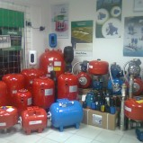 Shop and service for water pumps, automation