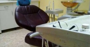 Стоматологический кабинет с клиентами