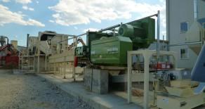 Timber pellet factory