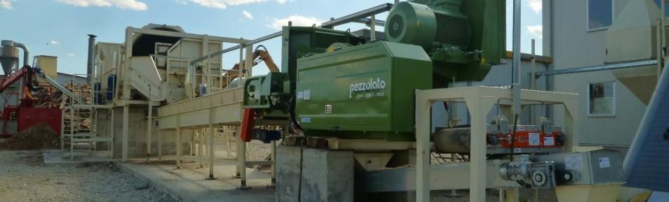 Завод по производству древесных гранул